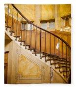 Paris Staircase Fleece Blanket