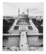 Paris Trocadero, C1900 Fleece Blanket