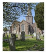 Parish Church St Martin - Jersey Fleece Blanket