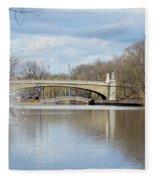Park Avenue Bridge Fleece Blanket