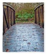 Park Bridge Fleece Blanket