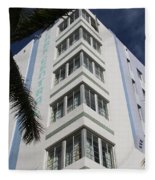 Park Central Building - Miami Fleece Blanket