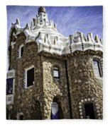 Park Guell - Barcelona - Spain Fleece Blanket