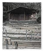 Park Pavilion Stage Fleece Blanket
