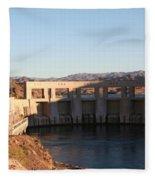 Parker Canyon Dam Fleece Blanket