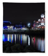 Parker's Lighthouse Reflections Fleece Blanket
