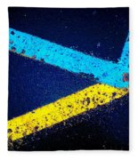Parking Lot Fleece Blanket