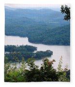 Parksville Lake Fleece Blanket