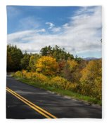 Parkway Milepost 357 Fleece Blanket