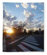 Parkway Sunset Fleece Blanket