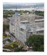 Parlament Quebec  Fleece Blanket