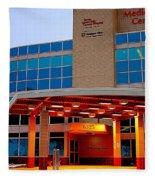 Parma Hospital Med Arts Three Fleece Blanket