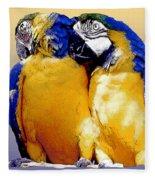 Parrot Passion 1 Fleece Blanket