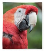 Parrot Profile Fleece Blanket