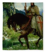 Parsifal In Quest Of The Holy Grail Fleece Blanket