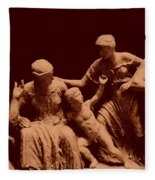Parthenon Sculpture Fleece Blanket