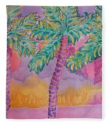 Party Palms Fleece Blanket