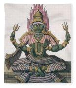 Parvati, From Voyage Aux Indes Et A La Fleece Blanket