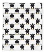 Paschal Lamb Fleece Blanket