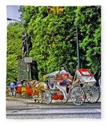 Passenger Cars Only - Central Park Fleece Blanket