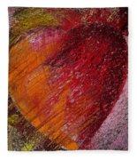 Passion Heart Fleece Blanket