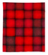 Passionate Reds Decor Fleece Blanket