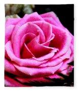 Passionate Rose Fleece Blanket