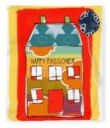 Passover House Fleece Blanket