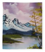 Pastel Fall Fleece Blanket