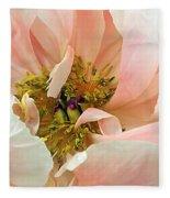 Pastel Floral Fleece Blanket