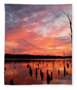 Pastel Morn Fleece Blanket