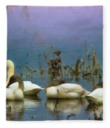 Pastel Morning  Fleece Blanket