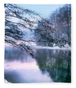 Pastel Pond Fleece Blanket