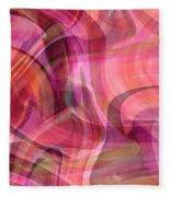 Pastel Power- Abstract Art Fleece Blanket