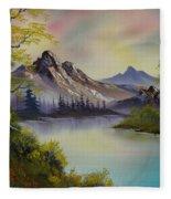 Pastel Skies Fleece Blanket