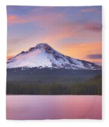 Pastel Sunset Fleece Blanket
