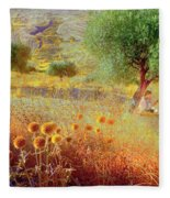 Pastelero Spain Fleece Blanket