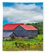 Pastoral Ontario 2 Fleece Blanket