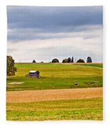 Pastoral Pennsylvania Fleece Blanket