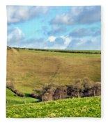 Pasture Land - Dorset Fleece Blanket