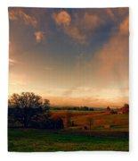 Pastureland Fleece Blanket