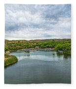 Patagonia Lake State Park Fleece Blanket