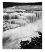 Patagonia Rio Glaciar Waterfall Fleece Blanket