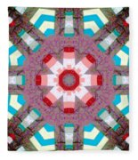 Patchwork Art Fleece Blanket