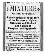 Patent Medicine: Opium Fleece Blanket
