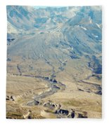 Path Of Destruction Fleece Blanket