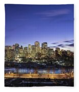 Path Of Glory Fleece Blanket