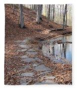 Path To Somewhere Fleece Blanket
