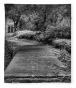 Path To The Forest Fleece Blanket