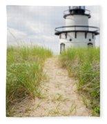 Path To The Lighthouse Fleece Blanket